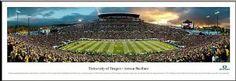 Oregon Ducks - Autzen Stadium - Framed Panoramic Photo