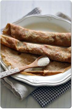 crêpes lait de noisette farine châtaigne