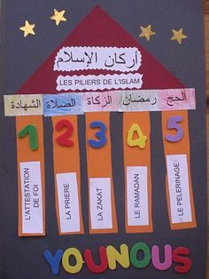 lapbook 5 pilliers islam