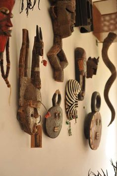 Beautiful African Mask Wall Decoration