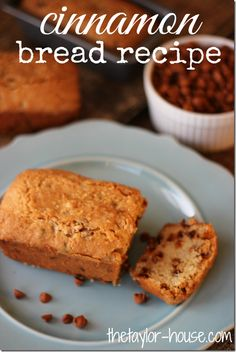 Delicious Recipe Idea: Cinnamon Bread Recipe