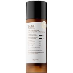 belif True Tincture Cleansing Stick from Sephora - Swirl this solid cleansing stick onto wet skin. Chamomile, calendula, and oat extracts help kill bacteria and calm redness. Wash Your Face, Face Wash, Beauty Regimen, Beauty Products, Beauty Tips, Beauty Secrets, Beauty Bar, Beauty Stuff, Skin Products