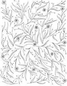 free coloring page to print and color Leaf Coloring Page, Fruit Coloring Pages, Coloring Pages For Grown Ups, Abstract Coloring Pages, Spring Coloring Pages, Heart Coloring Pages, Mermaid Coloring Pages, Pattern Coloring Pages, Online Coloring Pages