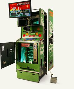 """Morksoi Boi"" (playable) - The Museum of Soviet Arcade Machines http://ift.tt/2dKZfZu"