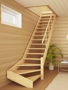 14 Fabulous Modern Attic Ladder Ideas Staggering Useful Tips: Attic Storage Shelves attic floor plan.Attic Diy Walk In Closet attic door awesome. Attic Stairs, Basement Stairs, House Stairs, Stairs To Mezzanine Floor, Stairs Window, Window Seats, Attic Renovation, Attic Remodel, Garage Remodel