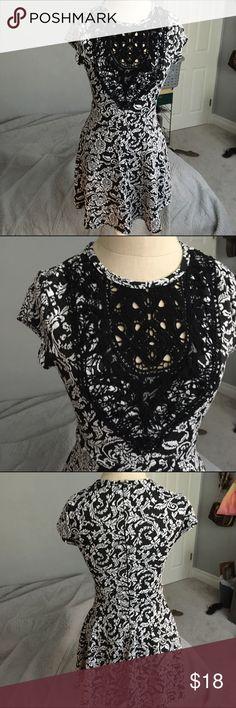Adorable Black And White Dress super cute! make me offers Xhilaration Dresses