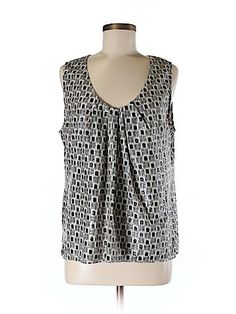 Check it out -- Ellen Tracy Sleeveless Blouse for $22.99 on thredUP!   Love it? Use this link for $10 off. New customers only.