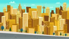 Image result for cartoon buildings