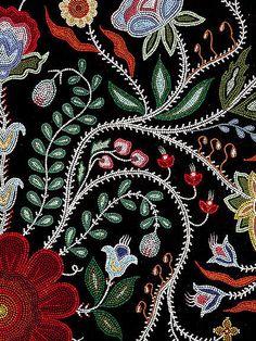 Native Beadwork, Native American Beadwork, Peyote Patterns, Beading Patterns, Loom Patterns, Loom Beading, Beaded Embroidery, Hand Embroidery, Beadwork Designs