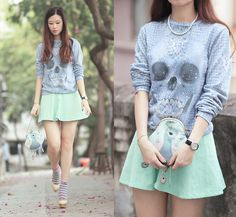 For the love of god (by Mayo Wo) http://lookbook.nu/look/4673991-for-the-love-of-god
