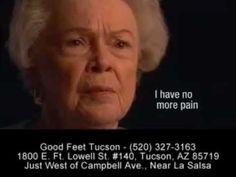 \n        Stopping Foot Pain - Heel Pain Arch Pain Back Pain Plantar Fasciitis -- Good Feet Tucson\n      - YouTube\n