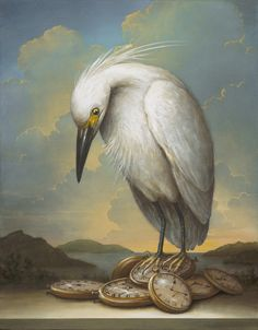 Finding ourselves right where we are in this time and space. Artwork by Kevin Sloan