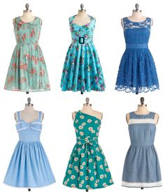 I want to start wearing dresses casually. These are perfect.