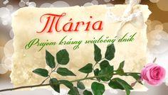 Mária   Prajem krásny sviatočný dník Birthday Wishes, September, Reusable Tote Bags, Marvel, Blog, Special Birthday Wishes, Blogging, Birthday Greetings, Birthday Favors