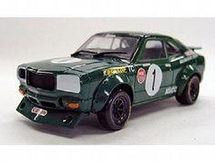 The Mazda Savanna RX-3 Racing No1 is a diecast model car in 1/43rd scale from the Kyosho diecast model car collection.