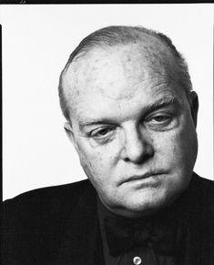 Truman Capote   everyday_i_show: photos by Richard Avedon