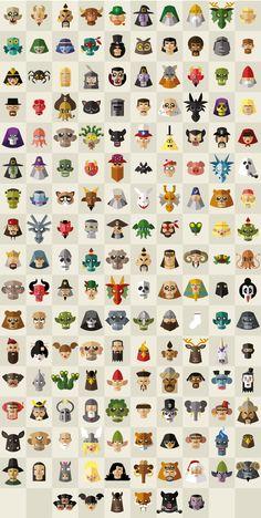 Icons flat design for a game. Flat Design, Digital Art, Icons, Game, Symbols, Gaming, Toy, Ikon, Games