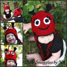 LSBV Ladybug Infant-Adult Sizes Available on Etsy, $32.95