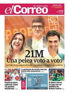 21 05 2017 El Correo de Andalucía  Bienvenido a la versión digital de El Correo de Andalucía. Las páginas que se iluminan en color azulado tienen un enlace con el que podrá ver  vídeos y webs, llevando las noticias hasta sus manos.