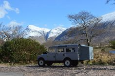 Land Rover Series One 107 camper conversion