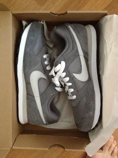 Nike sweatshirt sneaker- my fave Nike shoe ever!