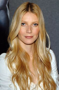 Gwyneth Paltrow is seen with casual waves and simple makeup at the 2005 Toronto Film Festival.