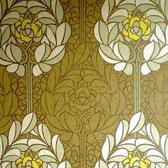 Revestimiento mural Flor de Loto amarillo de la colección Lotus Ref. LOA1901
