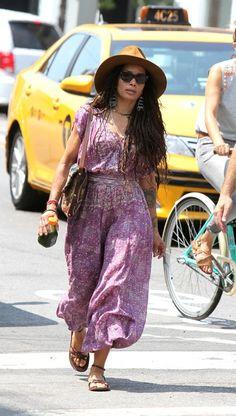 Lisa Bonet seen out in Brooklyn on July 13, 2015