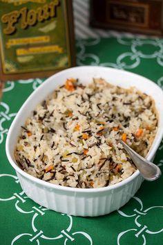 Wild Rice Pilaf | Tide & Thyme #henhouselinens