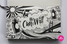 MOLESKINE ILLUSTRATIONS - By Lex Wilson./////// A product of me, my pens and my moleskine.