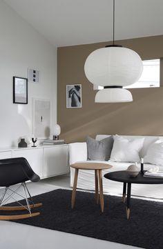 MY HOME FOR SALE   ELISABETH HEIER. Wandfarbe Braun Haselnuss  Skandinavischer Stil Einrichten Design