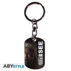 The Walking Dead - Michonne Metal Keychain