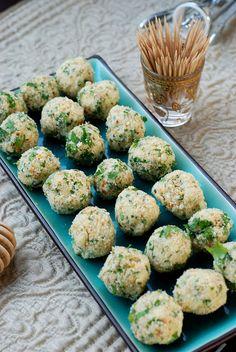 Julia Child's Roquefort Cheese Ball Appetizer