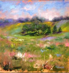 Original oil painting by Kathy Clouse entitled Prairie
