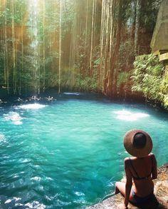 #Cenote #Chichen #Itza @taramilktea #travel #vacation #holiday