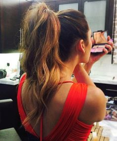 Gorgeous High Pony Prom Hairstyles 2016