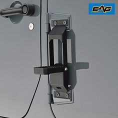 EAG Door Hinge Step Metal Folding Foot Pegs for Jeep Wrangler JKThe EAG Door Steps bolt onto the factory door hinge and provides easy access step to access Jeep Jk, 2013 Jeep Wrangler, Jeep Truck, Jeep Wrangler Unlimited, Jeep Gear, 4x4 Accessories, Jeep Wrangler Accessories, Jeep Doors, Offroader