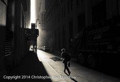 Running Towards The Light 18x24 Original Street Photography Photographic Print
