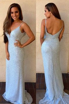 stunning prom dress, 2017 prom dress, long prom dress, sparkly prom dress, light blue prom dress