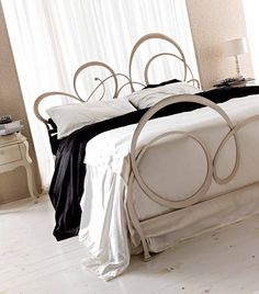 Double #bed BIZET by CorteZari #bedroom