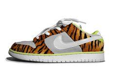 Chinese New Year + Zebra Nike Dunks by Aritz Bermudez, via Behance
