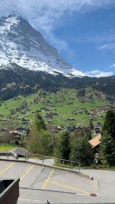 Panoramic view from hotel window at Grindelwald, Switzerland Grindelwald Switzerland, Zermatt, Switzerland Hotels, Switzerland Summer, Scenery Pictures, Beautiful Places To Travel, Amazing Nature, Places To See, Winter