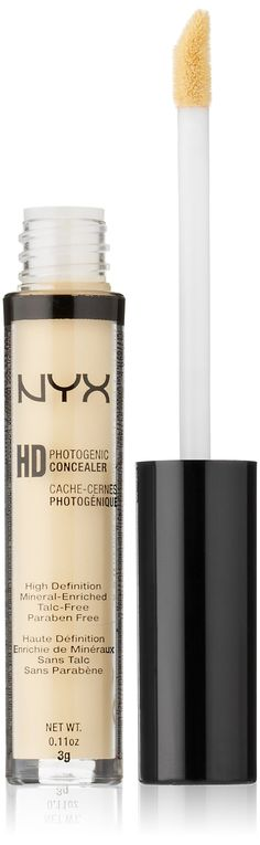 Amazon.com : NYX Cosmetics Concealer Wand, Yellow, 0.11-Ounce : Eye Makeup Concealers : Beauty