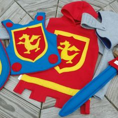Knight Body Armor Felt Breastplate PRIMARY by TheTreeHouseKid