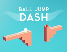"""Check out new work on my @Behance portfolio: """"Ball Jump Dash - Arcade Game Concept"""" http://on.be.net/1LSn7GP"""