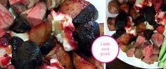 LAMB ROAST WITH ROASTED BEETROOT AND POTATOES - DELICIOUS IN THE DARK Beetroot, Lamb, Steak, Roast, Potatoes, Recipes, Food, Roasts, Potato