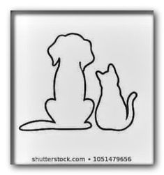 Dog outline - Daily Dog Buzz Dog Outline, Dogs, Fictional Characters, Pet Dogs, Doggies, Fantasy Characters