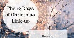 Monday, December 12, 2016         Hey guys,      Just dropping in for a couple minutes today to let you know about a link-up I'm partic...