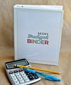 You loved the big budget binder, now Thirty Days has done a mini budget binder for you. We love it. #Avery