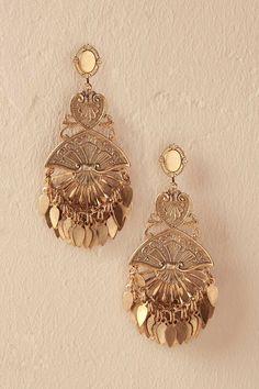 Anthropologie Manasa Earrings, bohemian bride, boho, wedding, chandelier earrings, gypsy style